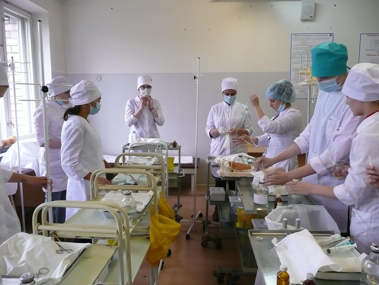 практика в медицинском колледже